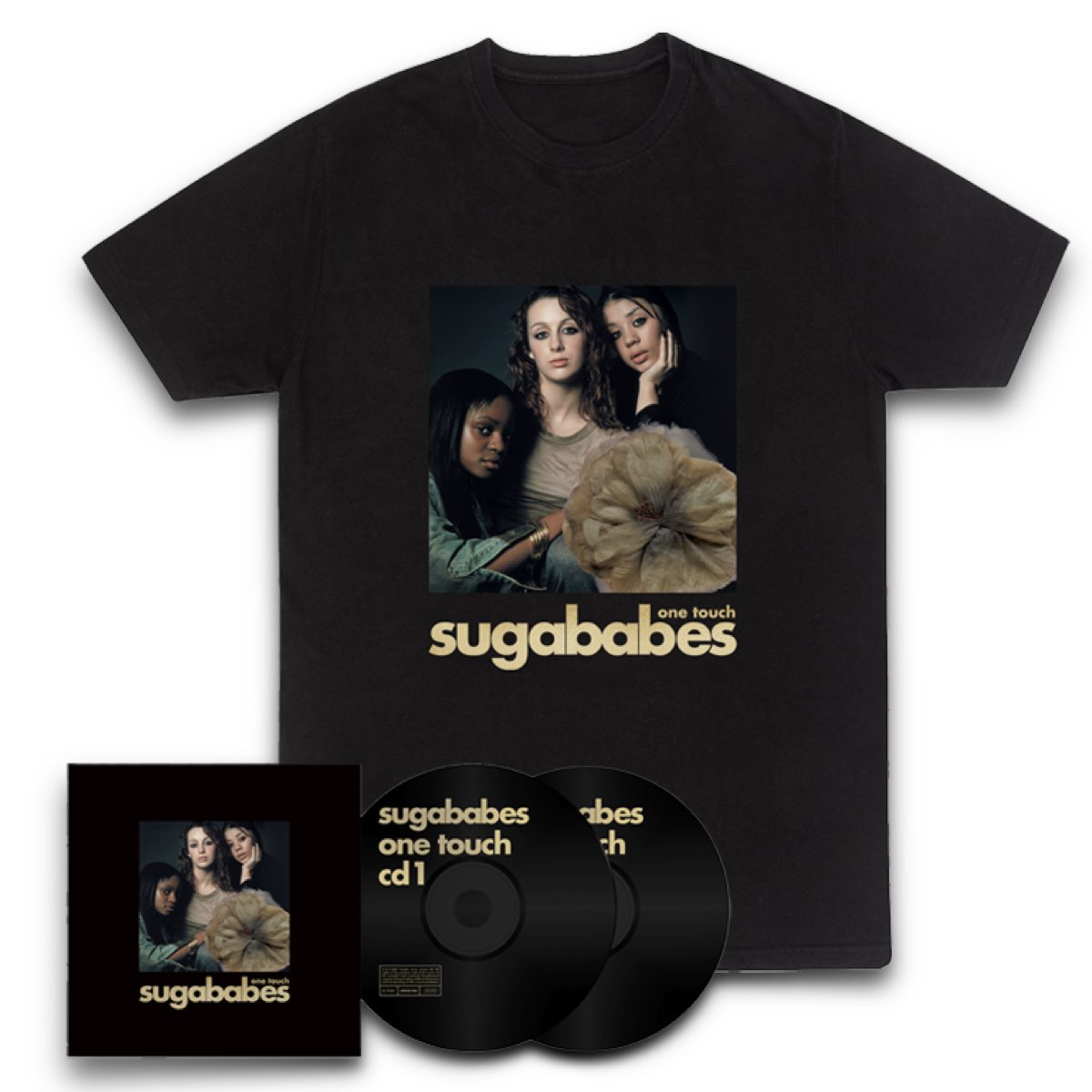 Sugababes - One Touch: Remastered 2CD + Overload [Signed & Numbered] CD Single + Album T-Shirt