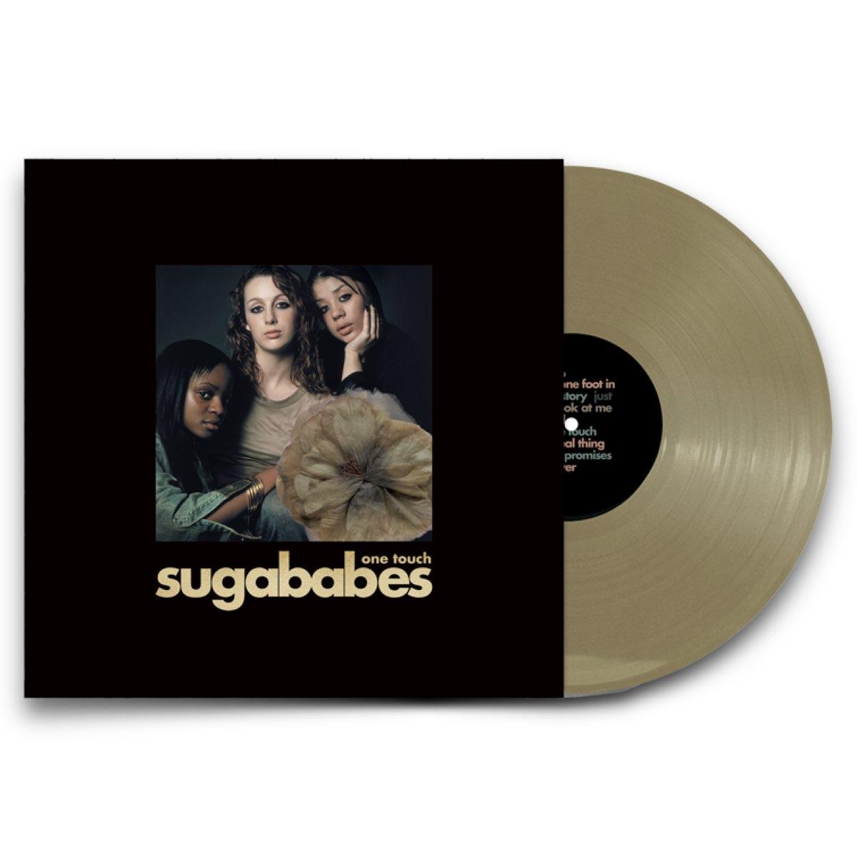 Sugababes - One Touch: Remastered Gold LP + Overload CD Single [Autografado e Numerado]