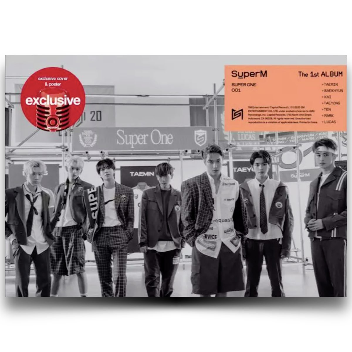 SuperM - Super One [Group Version - Target Exclusive, CD]
