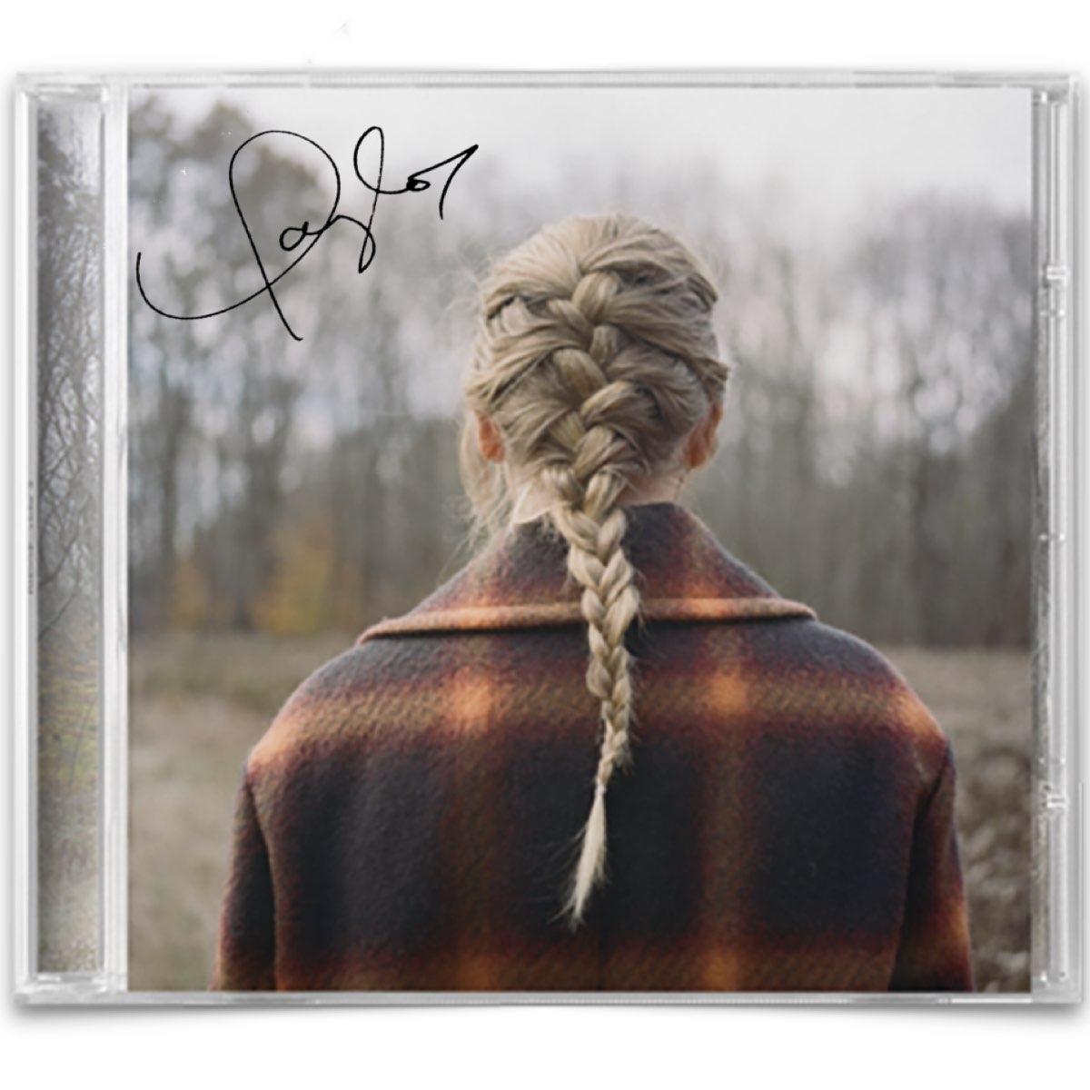 Taylor Swift - Evermore [CD Autografado - Edição Limitada]