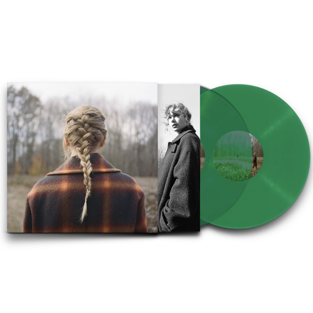 Taylor Swift - Evermore [Deluxe Edition - Transparent Vinyl]