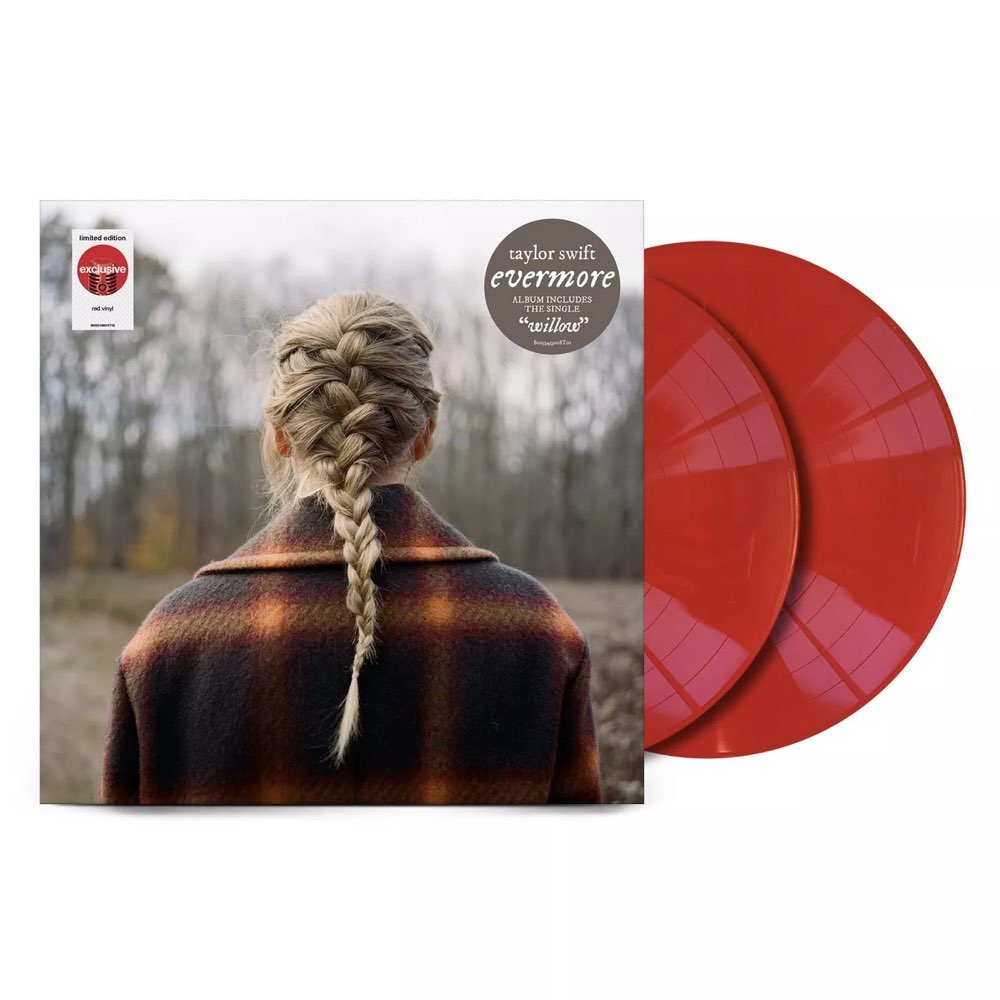Taylor Swift - Evermore [Target Exclusive, Red Vinyl]