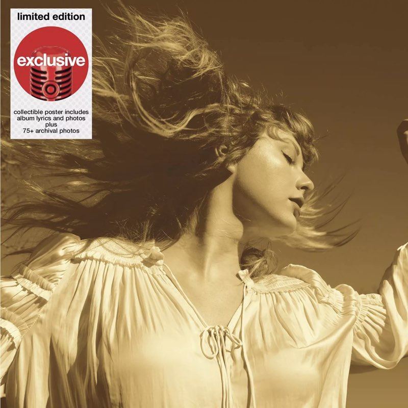 Taylor Swift - Fearless [Taylor's Version] [Target Exclusive, CD]