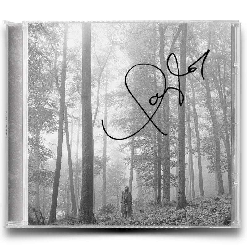 Taylor Swift - Folklore [CD Autografado]