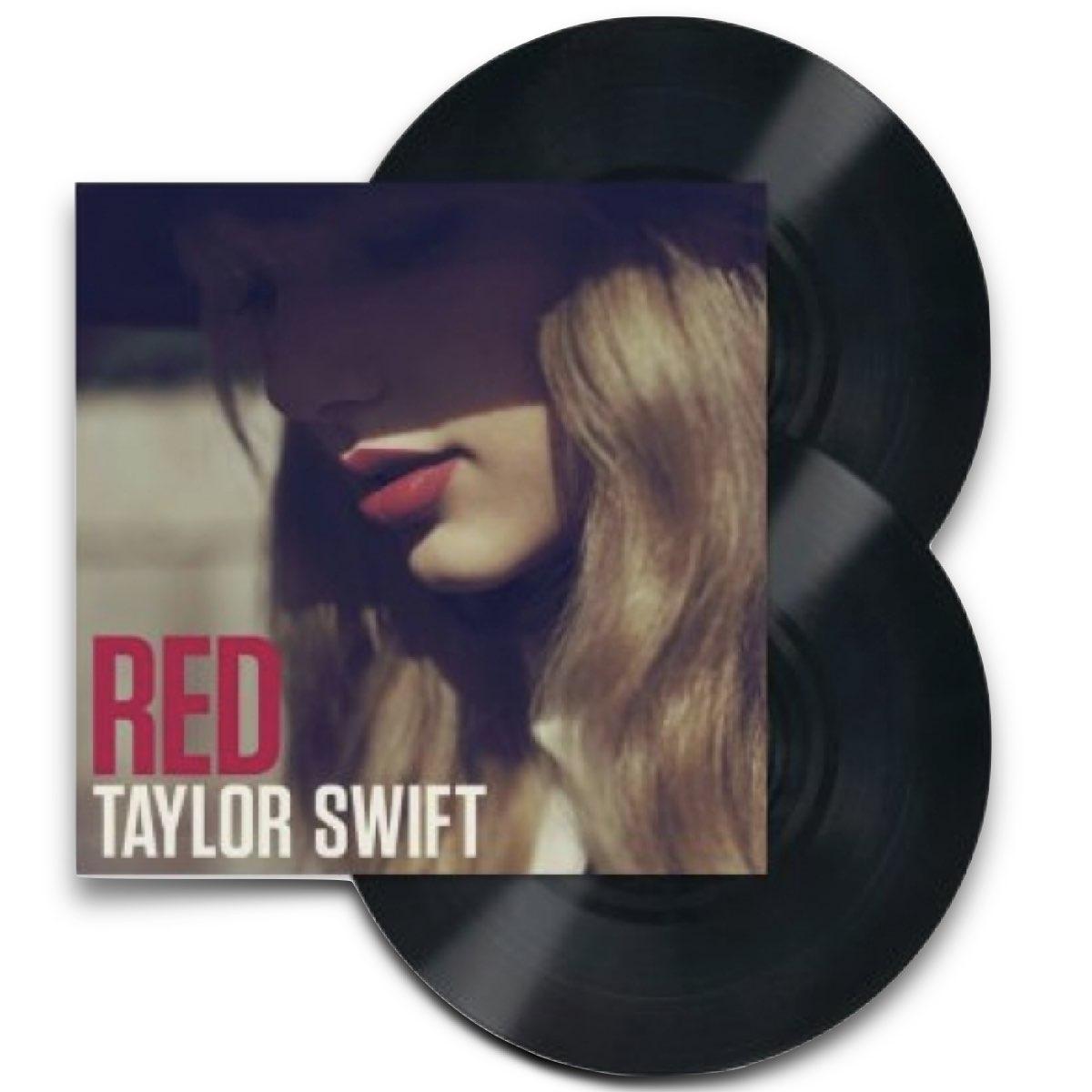 Taylor Swift - RED [Black Double Vinyl] - LEIA A DESCRIÇÃO