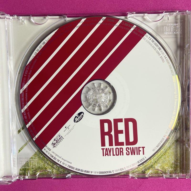 Taylor Swift - RED [CD - Importado]