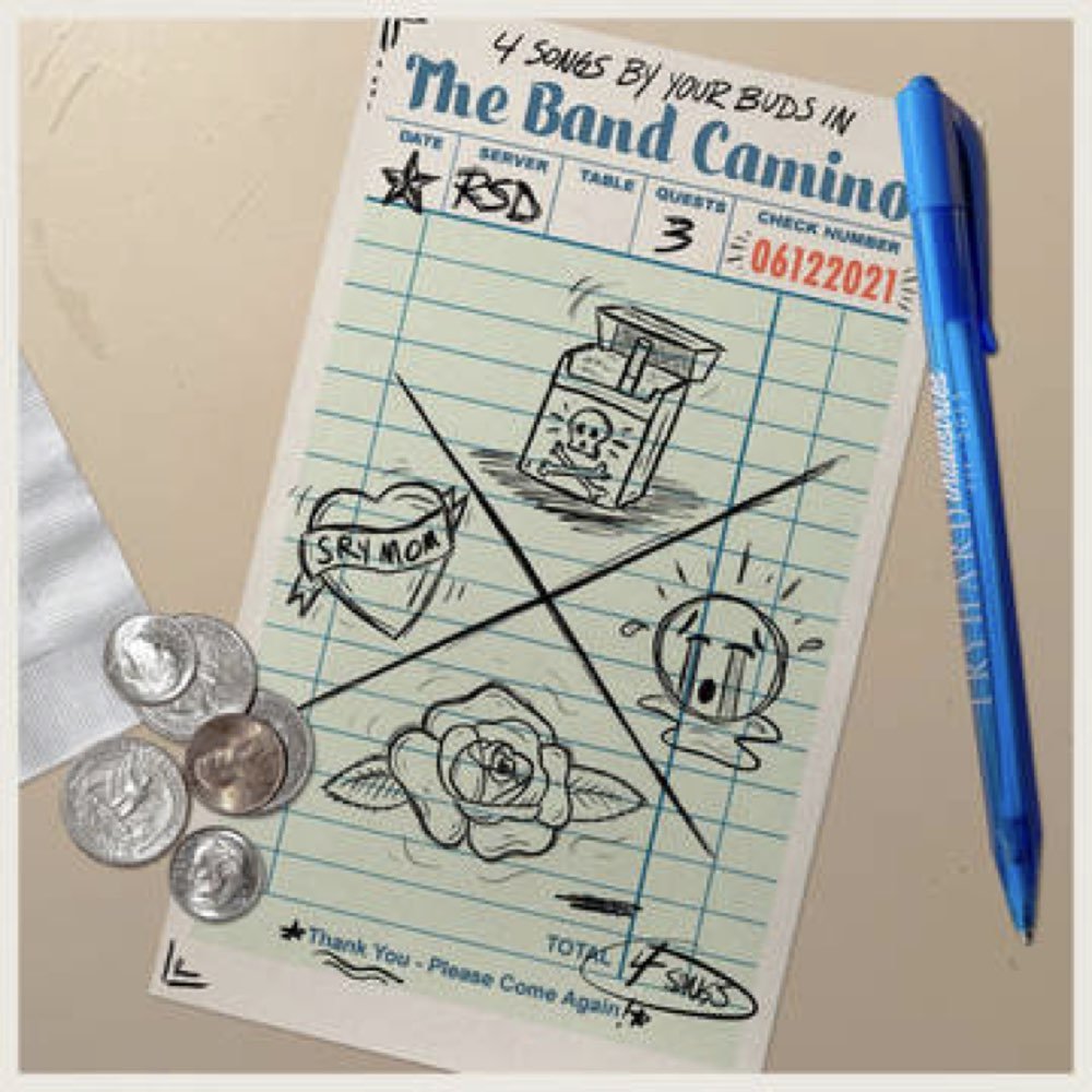 The Band Camino - 4 Songs by your buds in The Band [Limited Milky Clear Vinyl] - RSD 2021
