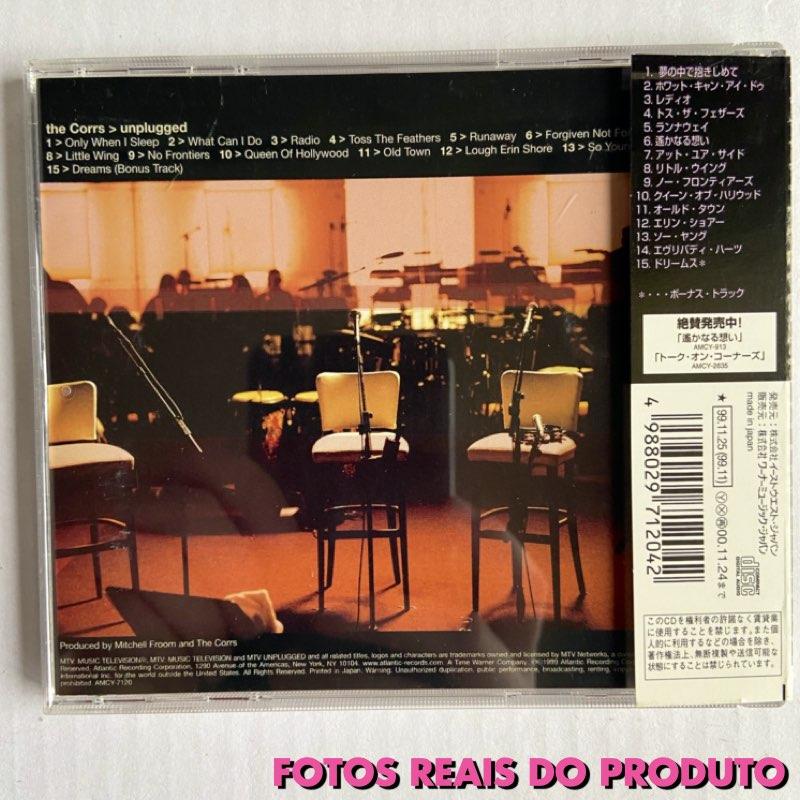 The Corrs - Unplugged [CD Edição Japonesa]