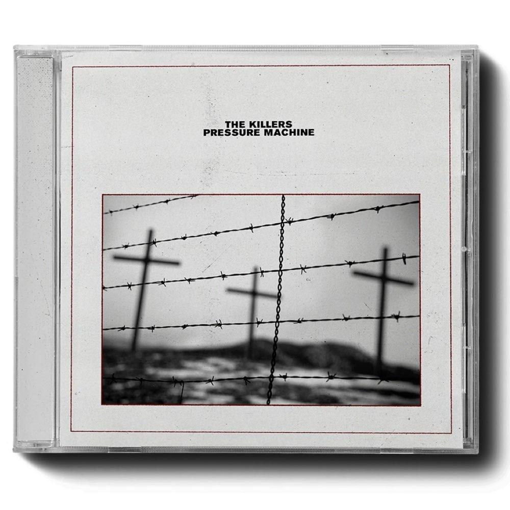 The Killers - Pressure Machine [CD Autografado - Brandon Flowers]