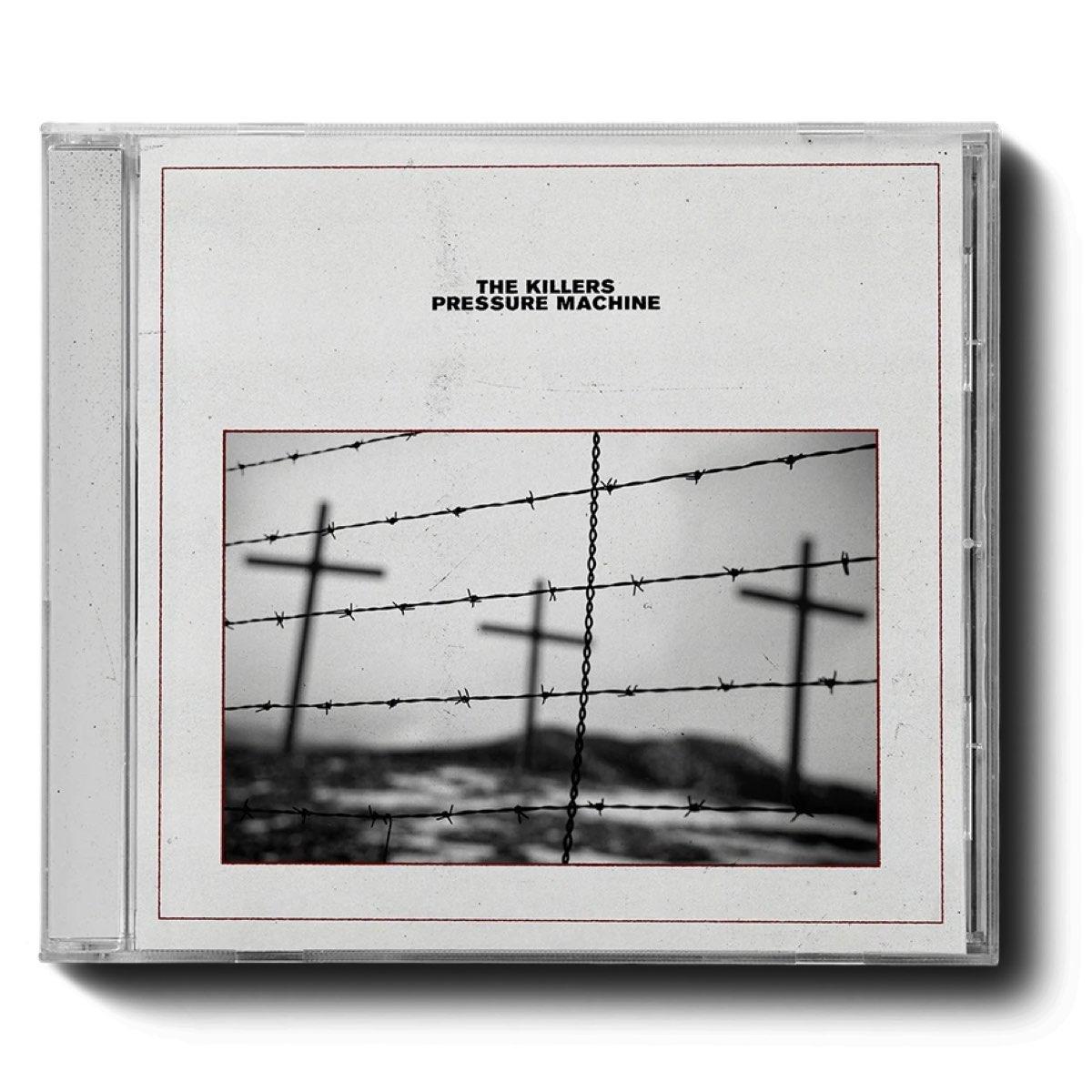 The Killers - Pressure Machine [CD Autografado - Ronnie Vannucci Jr]