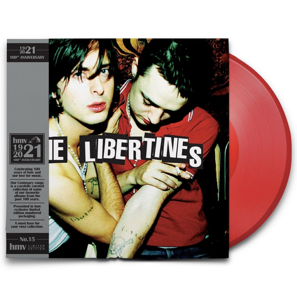The Libertines - The Libertines [hmv Exclusive] the 1921 Centenary Edition - Red Vinyl