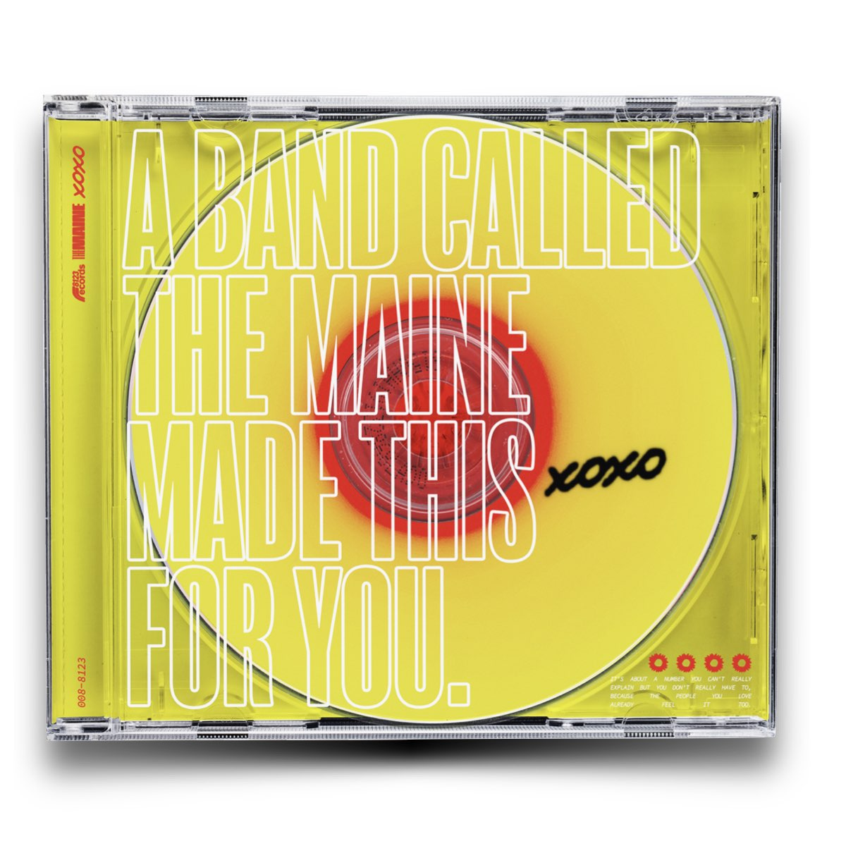 The Maine - XOXO - From Love and Anxiety in Real Time [Limited CD - Importado]