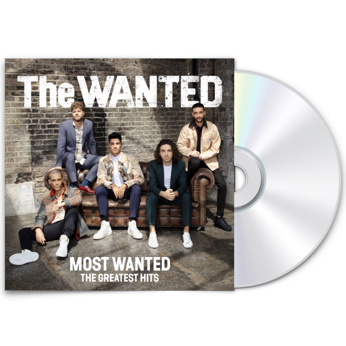 The Wanted - Most Wanted: The Greatest Hits [Amazon Exclusive Standard CD Autografado]