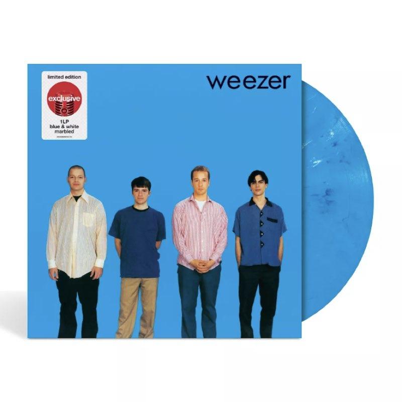 Weezer - Weezer [Target Exclusive, Blue And White Marbled Vinyl]