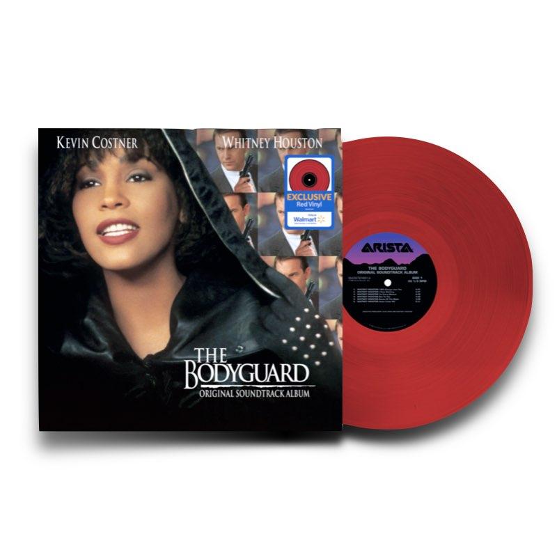 Whitney Houston - The Bodyguard [Original Soundtrack] [Walmart Exclusive - Vinil Vermelho]