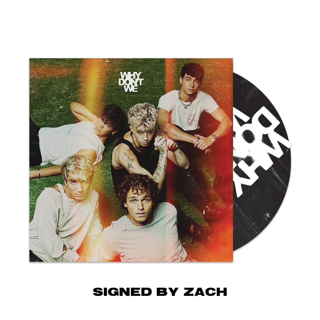 Why Don't We - The Good Times And The Bad Ones [CD] [SIGNED BY ZACH HERRON]