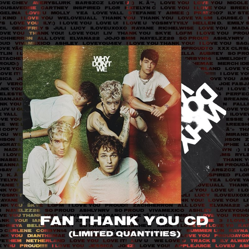 Why Don't We - The Good Times And The Bad Ones [Fan Thank You CD - Limited Edition]