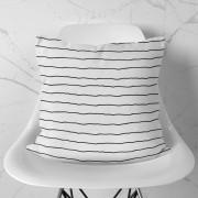Almofada Stripes White