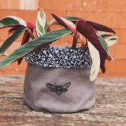 Cachepô Grande - Floral Bug
