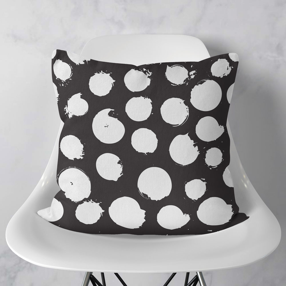 Almofada Dots Black