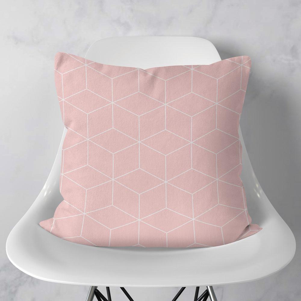 Almofada Geometric Rose