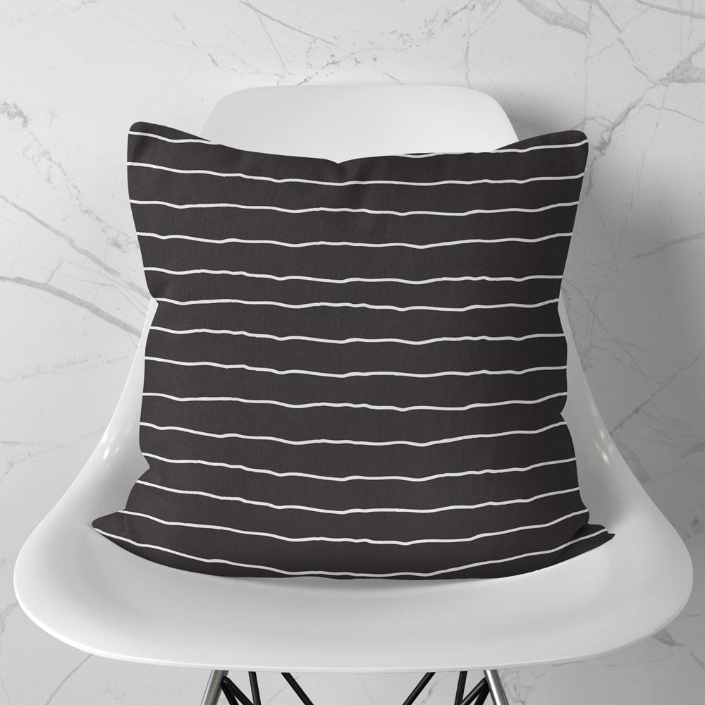 Almofada Stripes Black