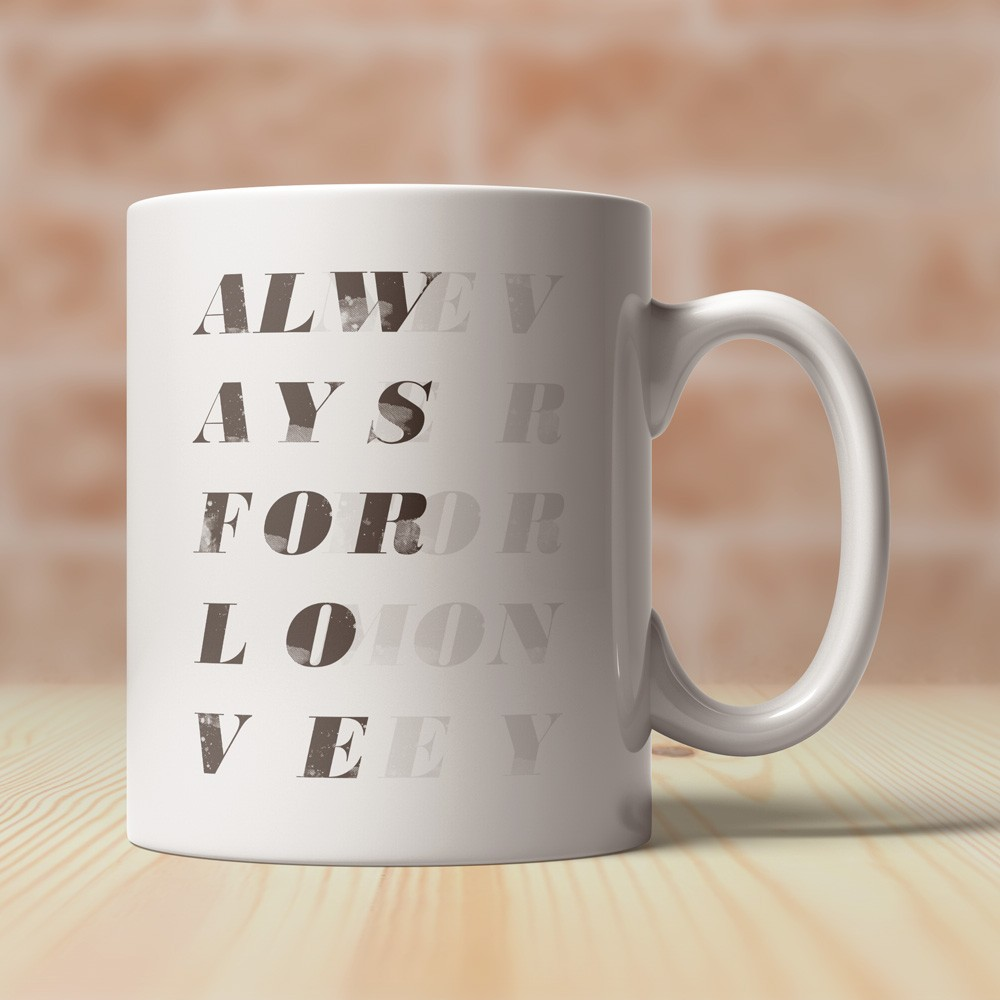 Caneca Always for Love