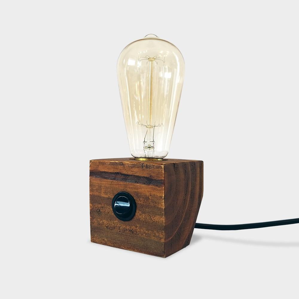 Luminária Ângulo - Imbuia