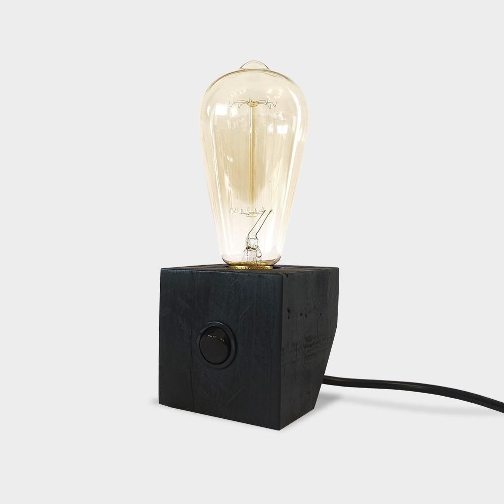 Luminária Ângulo - Preta