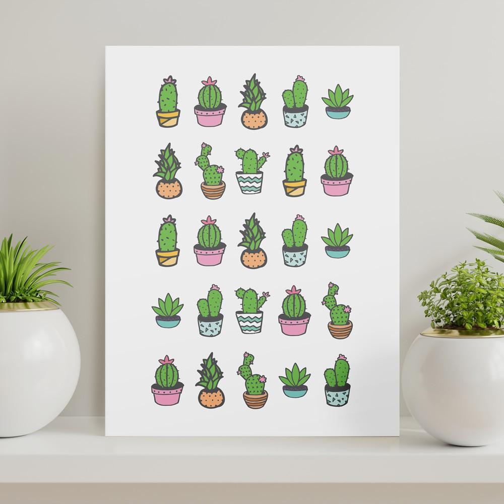 Quadros - Cactus