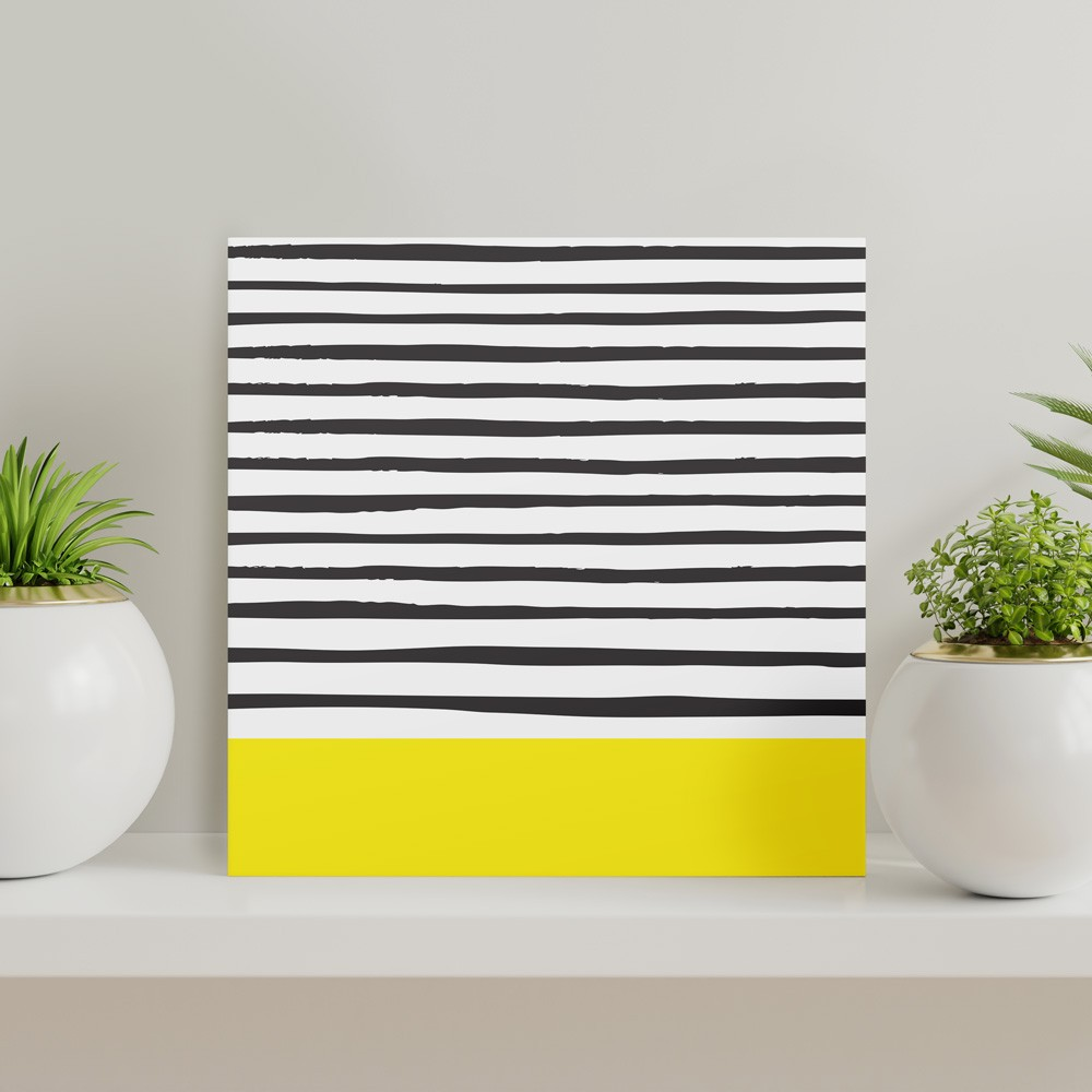 Quadros - Stripes Yellow