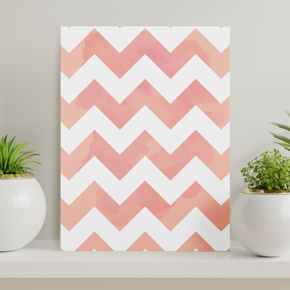 Quadros - Watercolor Chevron