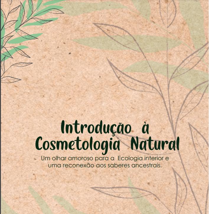 Ebook - Introdução à Cosmetologia Natural  - Saboaria Nativa Ecocosméticos