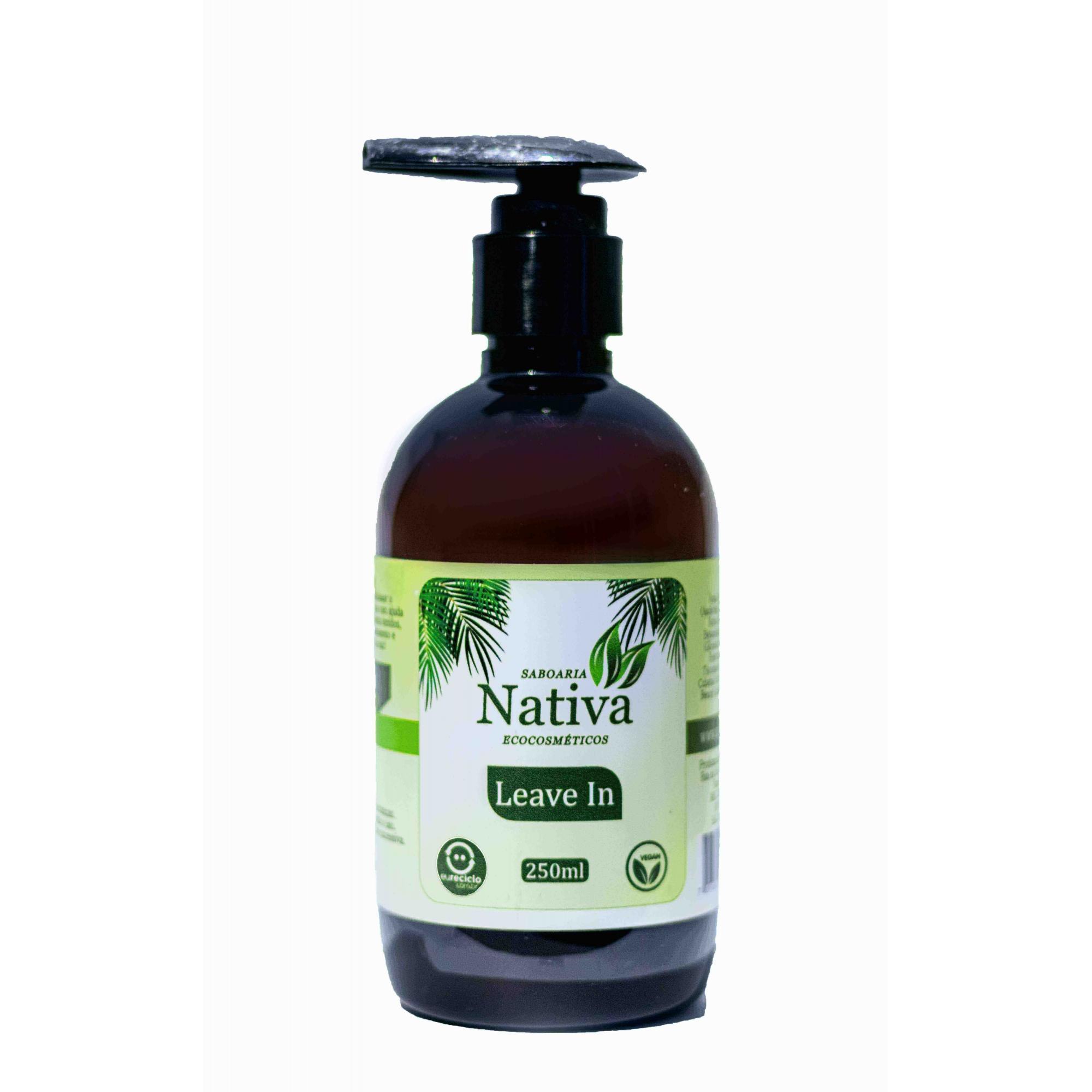 Leave In - 250ml  - Saboaria Nativa Ecocosméticos