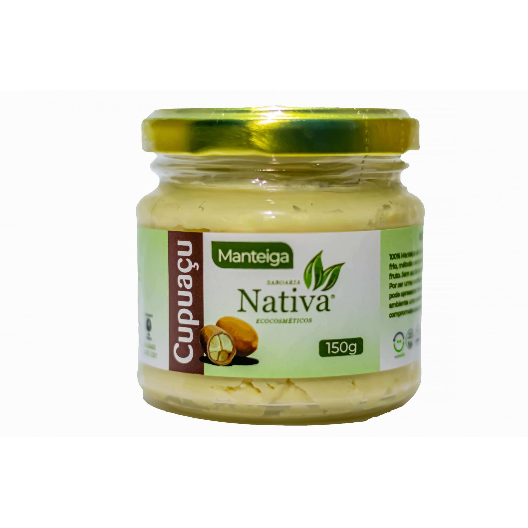 Manteiga de Cupuaçu - 150g  - Saboaria Nativa Ecocosméticos