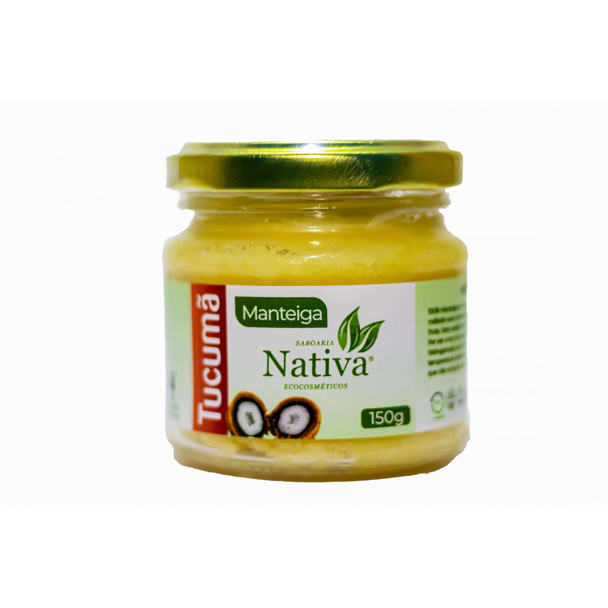Manteiga de Tucumã - 150g  - Saboaria Nativa Ecocosméticos