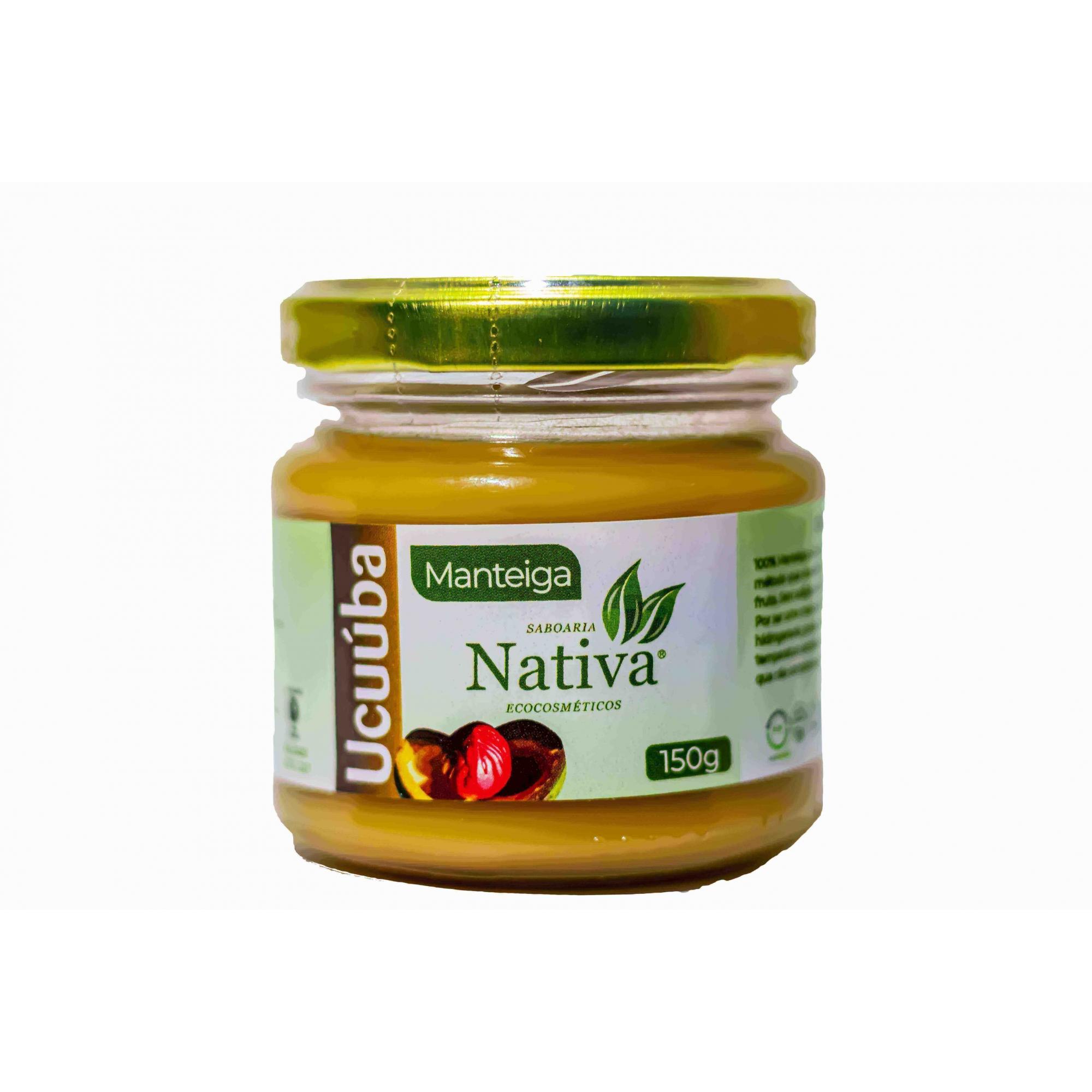 Manteiga de Ucuúba - 150g  - Saboaria Nativa Ecocosméticos