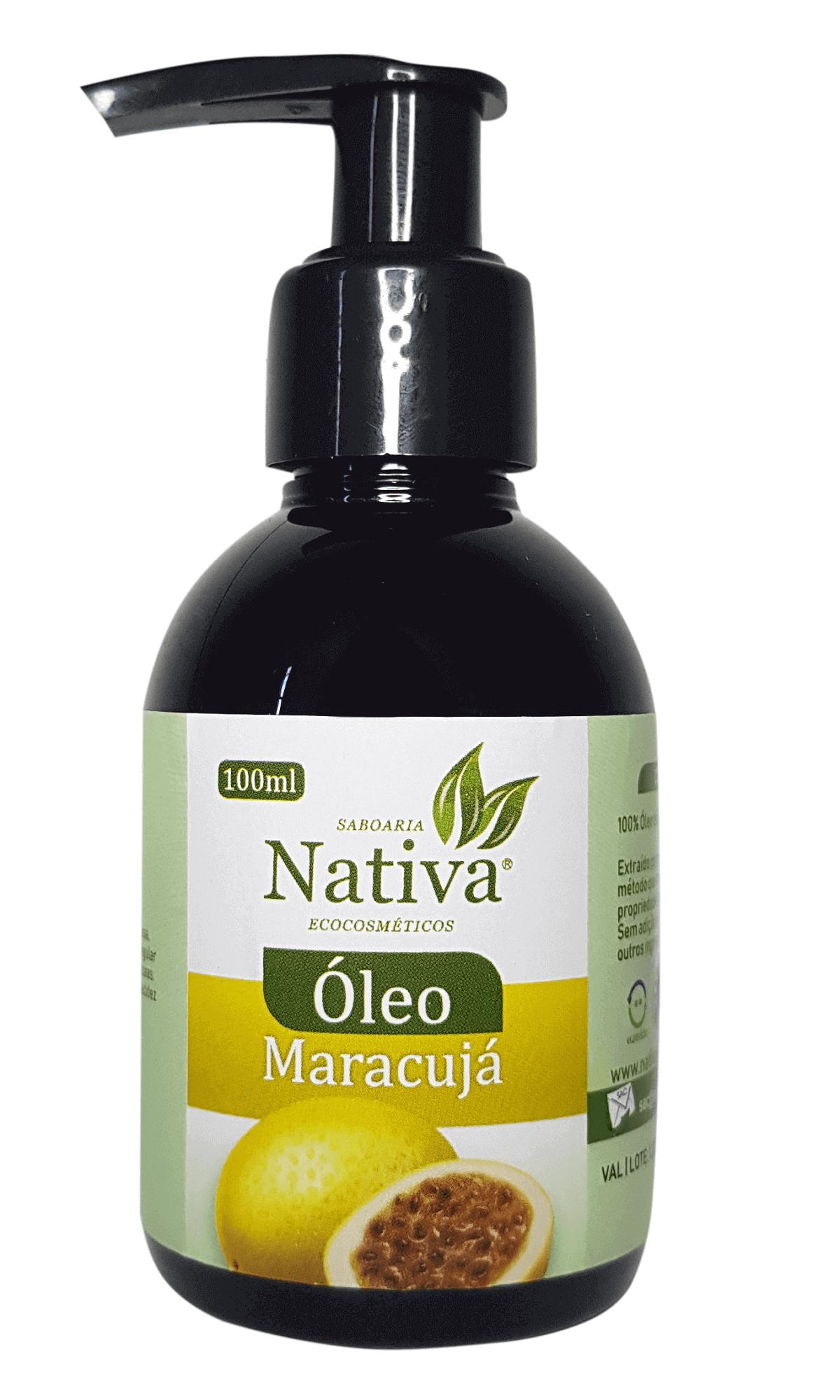 Óleo de Maracujá - 100ml  - Saboaria Nativa Ecocosméticos
