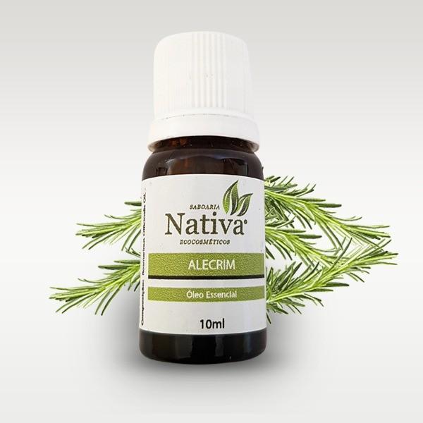 Óleo Essencial - Alecrim 10ml  - Saboaria Nativa Ecocosméticos
