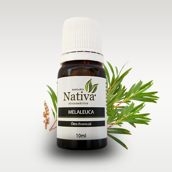 Óleo Essencial - Melaleuca (Tea Tree) 10ml  - Saboaria Nativa Ecocosméticos