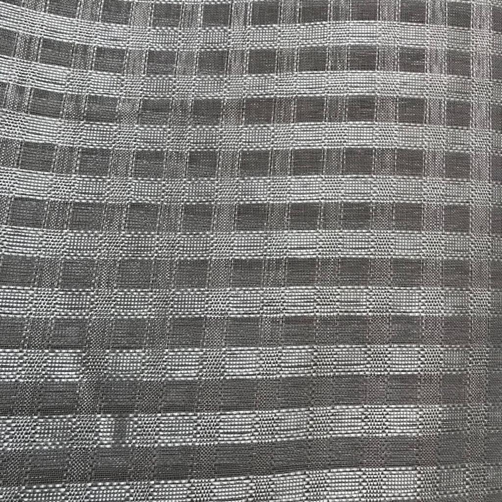 Tecido voil voal quadriculado