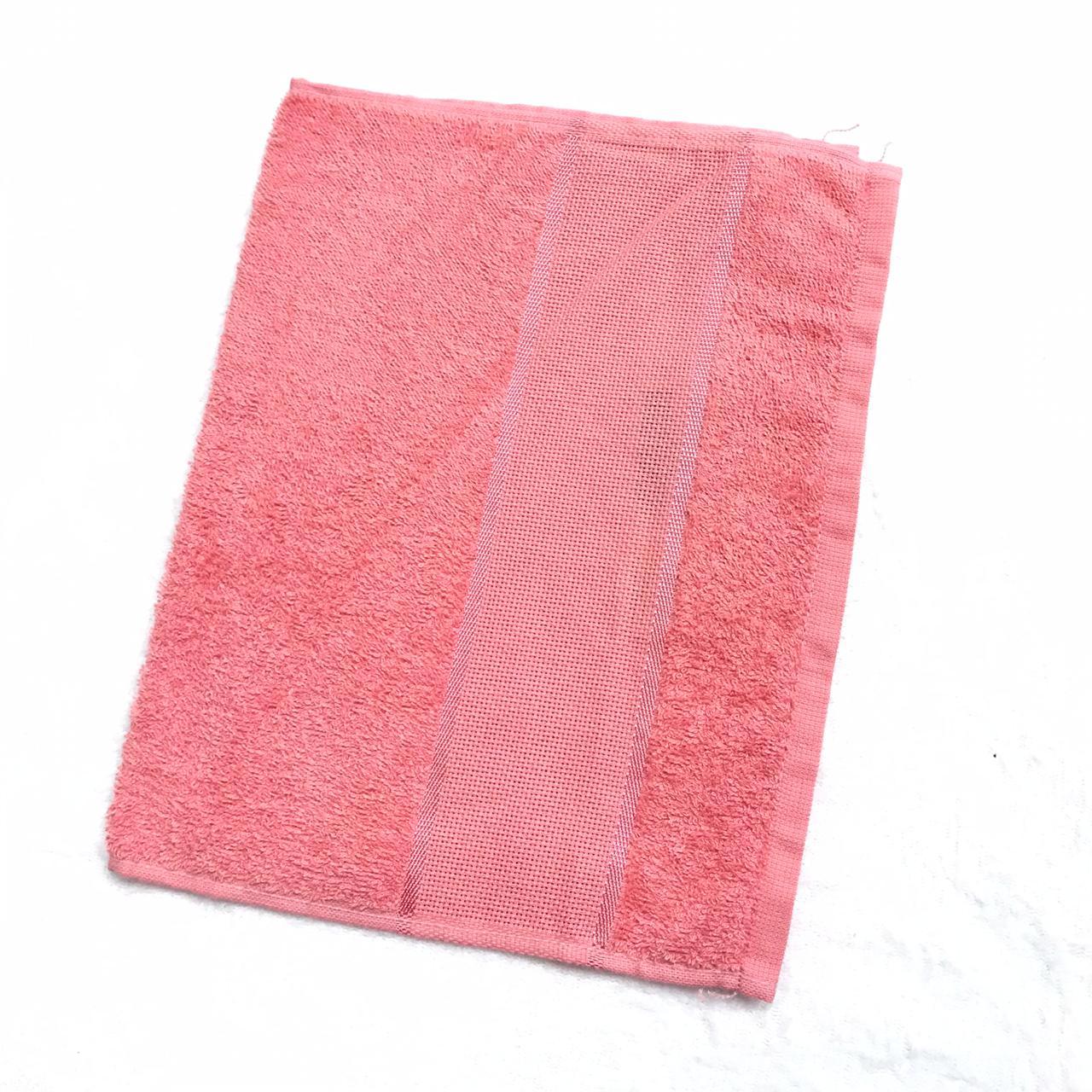 Toalha lavabo torino rosa 2 un