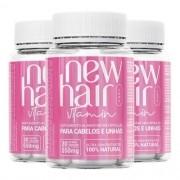 NEW HAIR CAPS 3 MESES DE TRATAMENTO