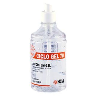 Álcool Gel 70% Antisséptico - Ciclo Farma