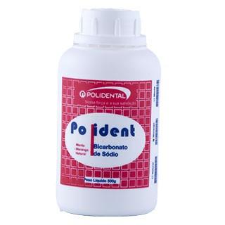 Bicarbonato de Sódio Morango Polident - Polidental
