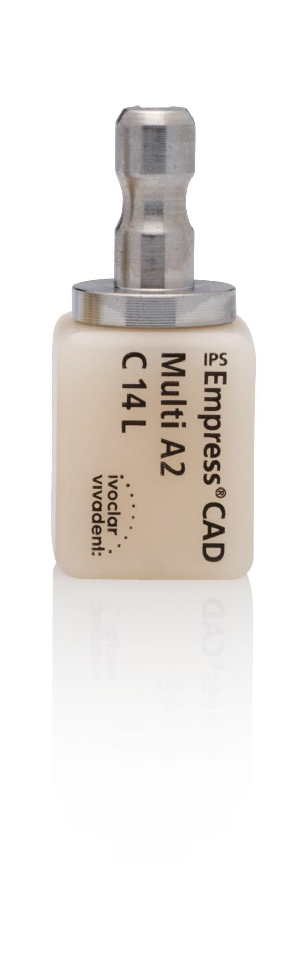Bloco Para CadCam IPS Empress Cerec Inlab Multi C14 L - Ivoclar Vivadent
