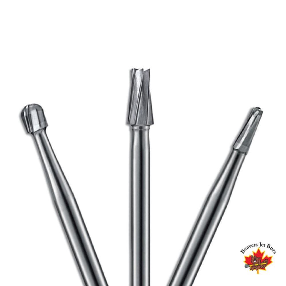 Broca Jet Carbide FG Cilíndrica Dentada de Alta Rotação - Labordental