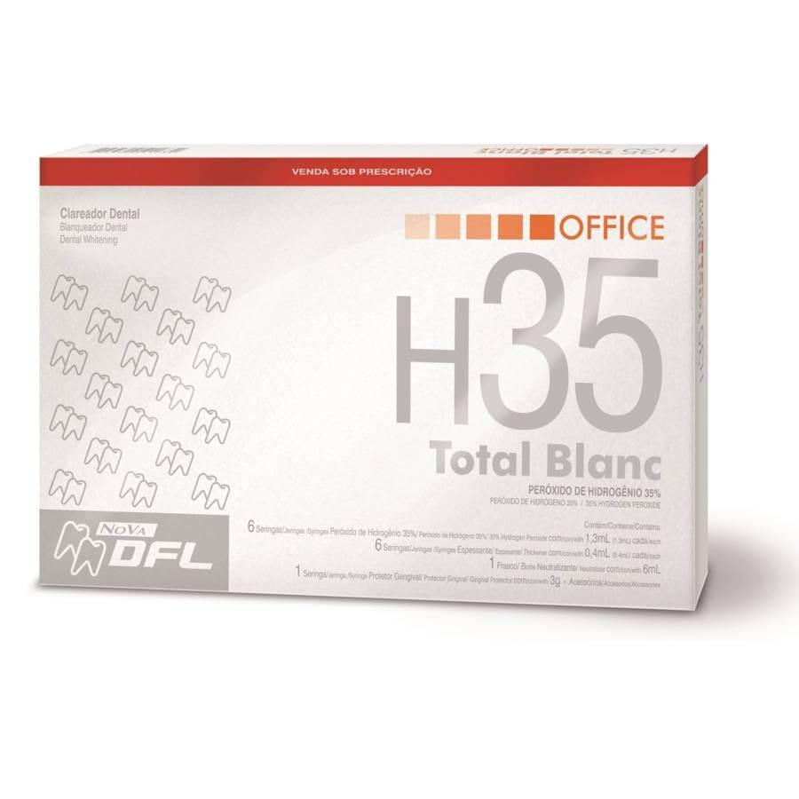 Clareador Total Blanc Office H35 Kit - DFL