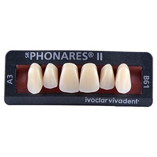 Dente SR Phonares II B61 Anterior Superior - Ivoclar Vivadent