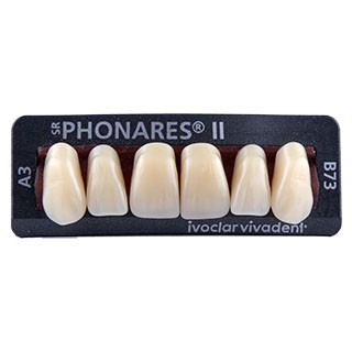Dente SR Phonares II B73 Anterior Superior - Ivoclar Vivadent
